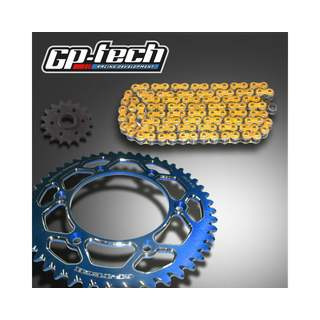 GP-TECH Factory Kettenkit Yamaha blau DID VX3 X-Ring