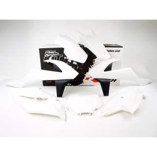 Racetech Plastik Komplett Kit Satz Teile weiss KTM SX SXF 125 250 350 2019