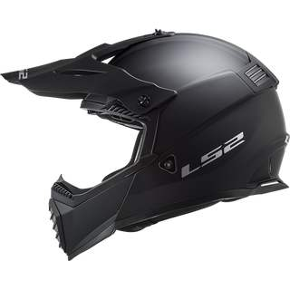 Matt Schwarz LS2 Motocross-Helm MX 437 Fast Evo Solid