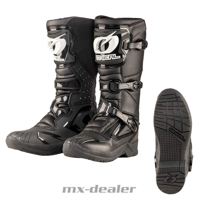 Gr/ö/ße 7//39 ONEAL Rider MX Motocross Supermoto Motorrad Stiefel schwarz 2020