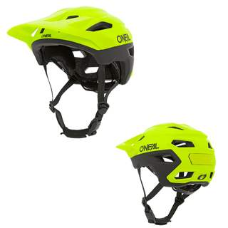 2020 ONeal Trailfinder Split Neon Fahrrad Helm All Mountain Bike Trail MTB BMX